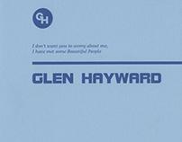 Glen Hayward exhibition catalogue