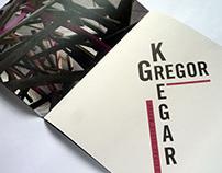 Gregor Kregar exhibition catalogue