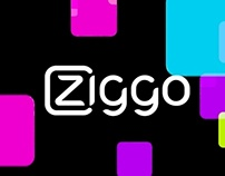 """Experiment"" Ziggo moving wallpaper"