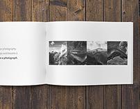 Minimalfolio Photography Portfolio A4 Brochure #3
