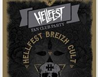 Poster Hellfest Breizh Cult