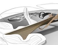 Mercedes next limo interior