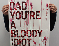 Drink Driving Protest Poster ISTD