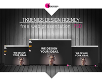 Web presentation .PSD Freebie