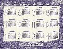 Calendar 2014~ 2015