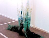 Attracione - Glass Sculpture
