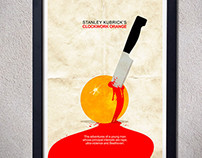 Clockwork orange - Alternative movie poster