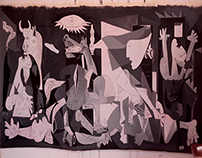 Reproduction of Guernica