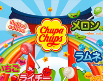 Flavour characters for Chupa Chups
