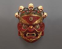 Tibetan Goddess Mask