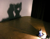 Latrina - shadow casting sculpture