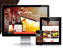 Athletica - Retina Parallax OnePage WP Shop Theme