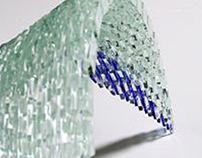 Movimentos ondulantes - Glass sculpture