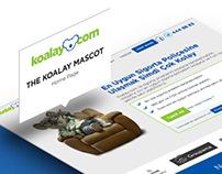 Koalay.com UX & UI design