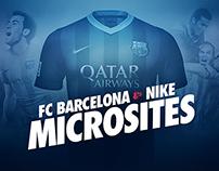 Microsites FCBarcelona & Nike