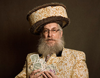 Pourim with the Loubavitch of the 770