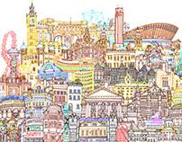 London Cityscape #2