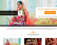 New interface design for myShaadi.in