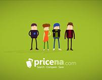 Pricena infographic