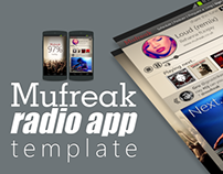 Mufreak Radio app template