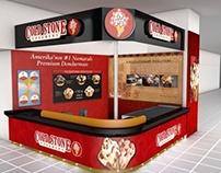 Cold Stone Creamery Ülker Sport Arena Kiosk Design