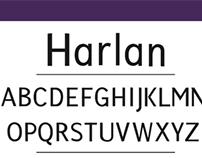 Harlan (Typeface)