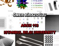 ARCHITECTURAL GEOMETRY @ ISTANBUL BILGI UNIVERSITY