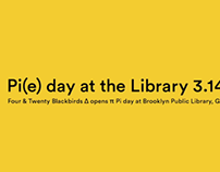 Pi(e) day at the Library