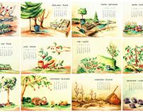 Gardening Calendar Comission