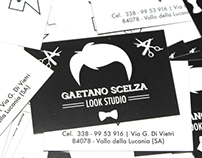 Gaetano Scelza business card