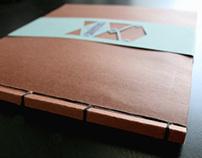 Hand-Bound Portfolio Books