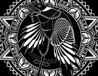 Raven Stencil