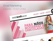 Email Marketing - Produtos - Cliente: Ecko Unltd