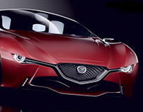 MAZDA TAMASHII CONCEPT CAR, created for Mazda Challenge