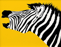 Illustration - pop art zoo