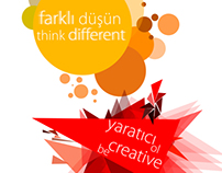 Think different. Be creative.