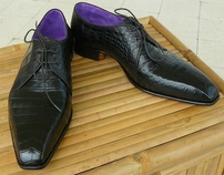 Real Italian handmade, hand sewn, hand lasted shoes