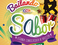 key visual bailando con Sabor