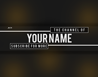 YouTube Banner Design - Tweet @MrJackSpence To Win