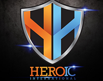 Heroic International - Logo Design