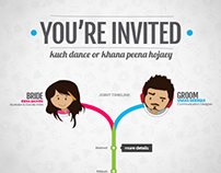 Esha & Vakas - Wedding Website