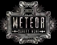 Meteor - Barley Wine Beer Label