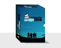 """Caja DVD colección """"Expedición 1808"""""""