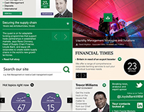 Lloyds Commercial Banking - redesign concept