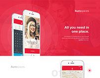 Services Ecommerce Mobile App UI
