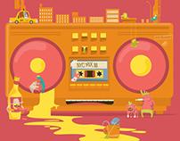 NYC mix tape