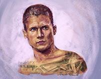 Michael Scofield Digital Painting- Prison Break Fan Art