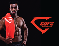 Core Fitness Station - Branding
