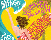 SHAGA: Summer Rakrakan Poster