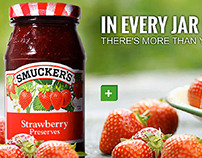 Smucker's Site Redesign